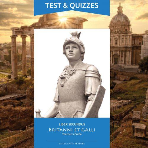 Liber Secundus Britanni et Galli Tests & Quizzes Printables